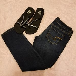 American eagle stretch jeggings/skinny jeans